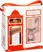Cointreau gift box with cocktail glass